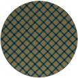 rug #638301 | round brown check rug