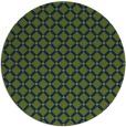 rug #638320   round check rug