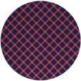 rug #638374 | round check rug