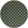 rug #638401 | round brown check rug