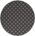 rug #638429 | round brown check rug