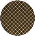 rug #638436 | round check rug