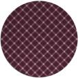 rug #638437 | round pink rug