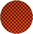 rug #638471 | round check rug