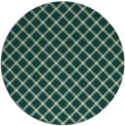 rug #638485 | round yellow check rug