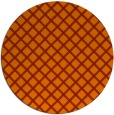 rug #638525 | round red check rug