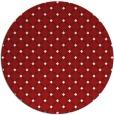 rug #638530   round check rug
