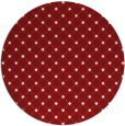 rug #638532   round check rug
