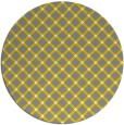 rug #638584   round check rug