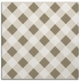 rug #638985 | square white check rug