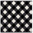 rug #638989 | square white check rug
