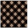 rug #638997 | square beige check rug