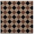 rug #639001 | square brown geometry rug