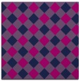 rug #639013 | square blue check rug