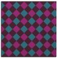 rug #639049 | square pink rug