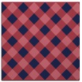rug #639077 | square pink check rug