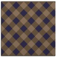 rug #639093 | square beige check rug