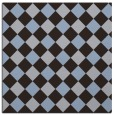 rug #639097   square blue-violet check rug