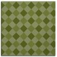 rug #639109   square green check rug