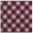 rug #639141 | square pink check rug