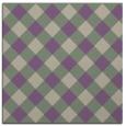 rug #639165 | square beige check rug