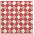 rug #639205 | square white check rug