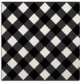 rug #639257 | square white geometry rug