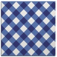 rug #639265 | square blue check rug