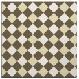 rug #639277 | square white check rug