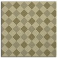rug #639309 | square light-green check rug