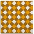 rug #639321 | square light-orange rug