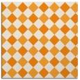 rug #639329 | square light-orange check rug