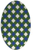 rug #639382   oval check rug