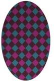 rug #639401 | oval flags rug