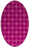 rug #639547   oval check rug