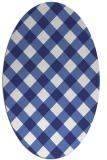 rug #639618   oval check rug