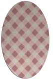 rug #639678   oval check rug