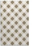 rug #639689 |  white check rug