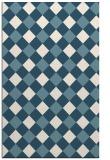 rug #639713 |  white check rug