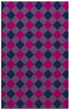 rug #639717 |  pink check rug