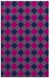 rug #639717 |  blue check rug