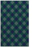rug #639721 |  blue check rug