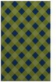 rug #639725 |  green check rug