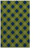 rug #639725 |  blue check rug
