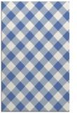 rug #639729 |  blue check rug