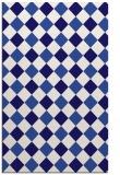rug #639793    blue-violet check rug