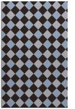 rug #639801 |  blue-violet check rug