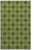 rug #639813    green check rug
