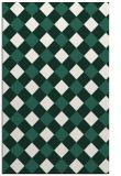 rug #639821 |  green check rug