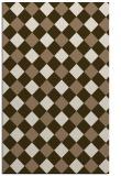 rug #639841 |  beige check rug